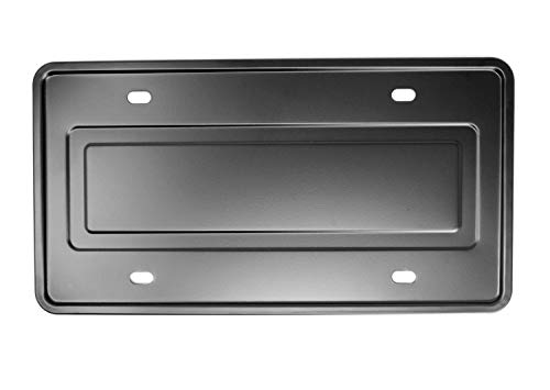 LFPartS Stainless Steel License Plate Frame and Backing Reinforce Holder/Bracket -