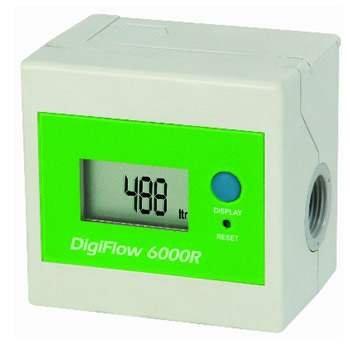 Savant (DF066) Digiflow 6000R Mulifilter Digital Flow Meter; - Flow Water Meters Digital