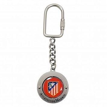 El Atlético de Madrid (pequeño Crest altoparlantes) Llavero ...