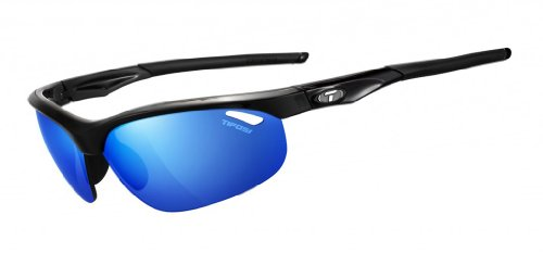 Tifosi Clarion Mirror Collection Veloce Sunglasses Black Turquoise (Collection Sunglasses)