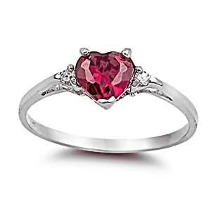 ranae 0 81ct cut simulated ruby and iof
