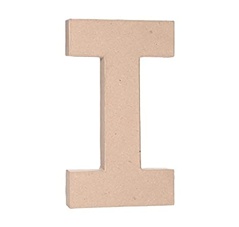 Darice 2861-O Paper Mache Letter 12Inx1.5In
