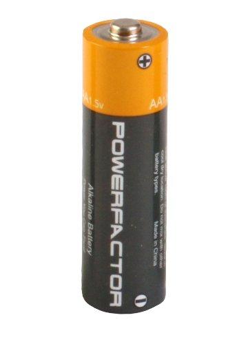 PowerFactor AA щелочные батареи 24 обновления