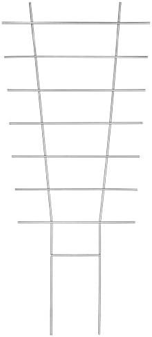 Connex Blumenstütze Metall 34 x 77 cm / Rankhilfe / Gitterspalier / Kletterhilfe für Pflanzen / FLOR78311