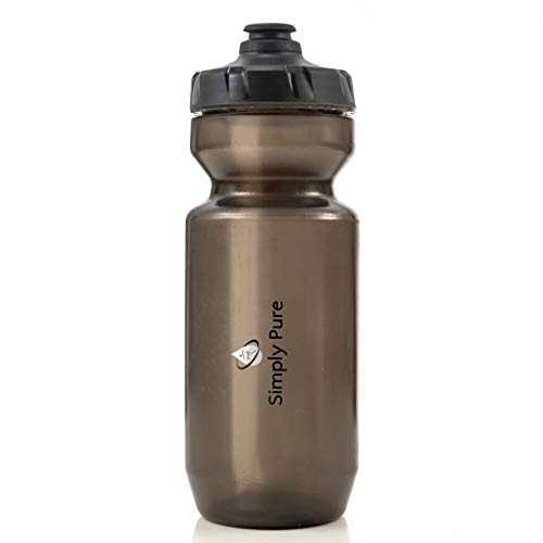 Simply Pure - Purist 22 oz Water Bottle by Specialized Bikes (Moflo Cap) (Smoke)