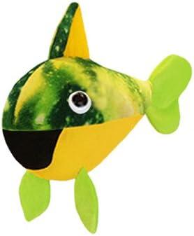 ToySource Orange Aurora The Fish 12.5 Plush Collectible Toy 12.5 Orange