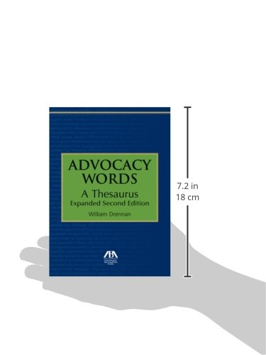 A Thesaurus Advocacy Words Expanded