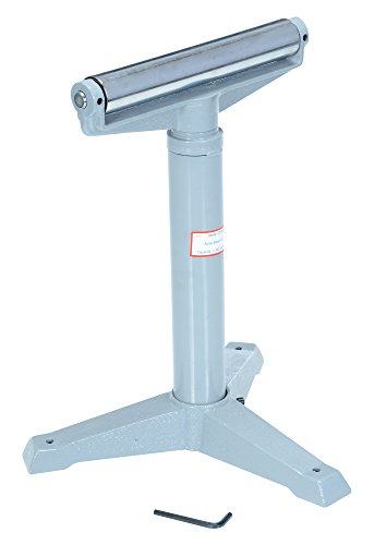 "Vestil STAND-H 14"" Horizontal Deluxe Roller Stand, 23"" - 38-1/2"" Height, 1760 lbs Capacity from Vestil"