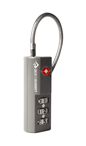 Summit Combination - Sea to Summit TSA Travel Lock (Combination w/Cable)