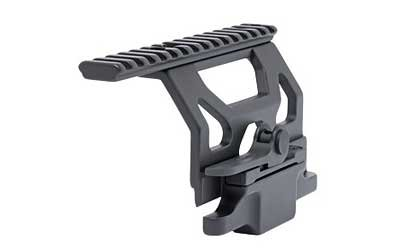 GG&G Inc. x 40mm Mount, Fits AK, Quick Detach, Includes Dovetail Ring, Black Finish