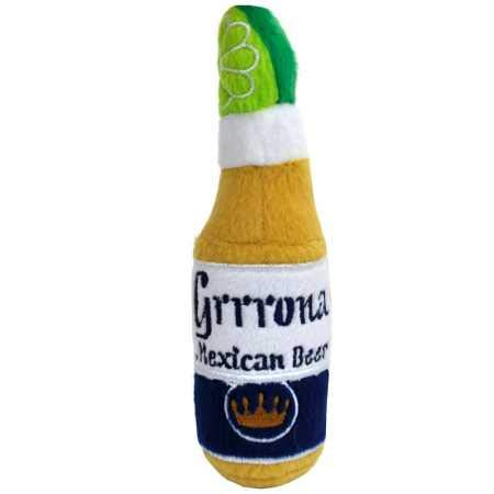 Haute Diggity Dog Grrrona Mexican Beer Plush Toy Small