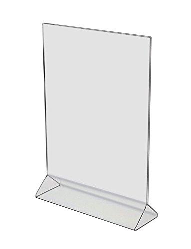 Marketing Holder Premium Sign Holder Premium Ad Frame Durable Acrylic Table Top 11