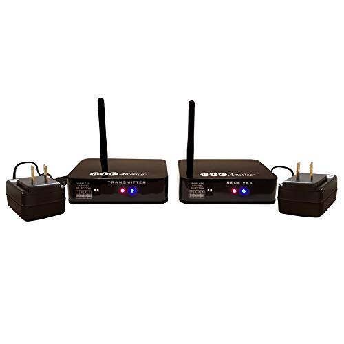 BIC America WTR-SYS Wireless Transmitter/Receiver Kit for Hookup of Wireless Subwoofers and Wireless Powered ()