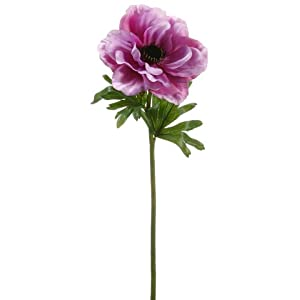 "20"" Anemone Spray Purple Lavender (pack of 12) 34"