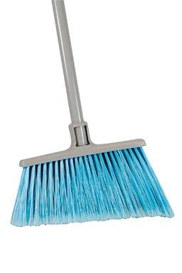 Quickie Broom Angle Cut Steel 12 '' 4 '' To 5-1/8 '' Over Sized by HOME-PRO