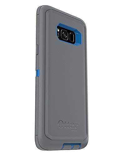 OtterBox Defender Series for Samsung Galaxy S8+ Plus Screenless Design, Case Only - Bulk Packaging - Marathoner (Cowabunga Blue/Gunmetal Grey)