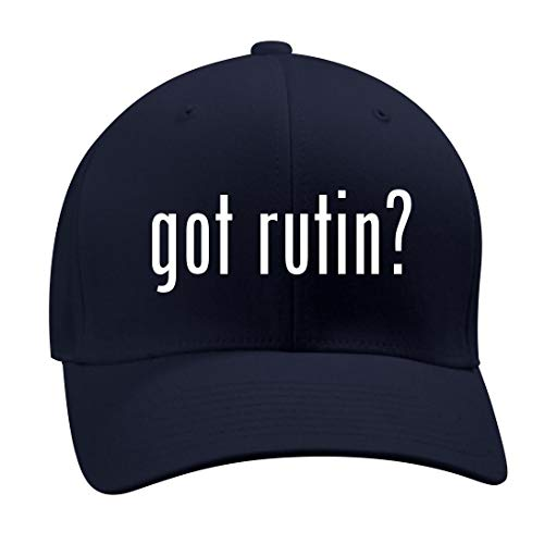 got Rutin? - A Nice Men's Adult Baseball Hat Cap, Dark Navy, Large/X-Large -