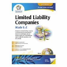 Limited Liability Companies Software, Includes Instructions, Sold as 1 Each -