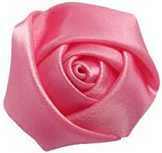 f7f0936d01a80 YYCRAFT Pack of 30 Satin 4d Rose 1.5