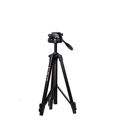 44' DY-558S UNC 1/4 Universal Digital Camera Tripod with Power Supply 3000mAH Li battery and LED lighting