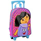 Dora the Explorer Toddler Rolling School Backpack