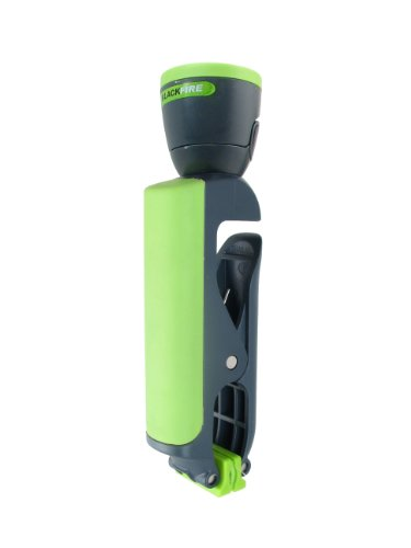 Blackfire BBM889 Clamp Light Junior Compact 100-Lumen 4AAA LED Flashlight