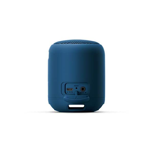 Sony SRS-XB12 Enceinte Portable Bluetooth Extra Bass Waterproof - Bleu 5