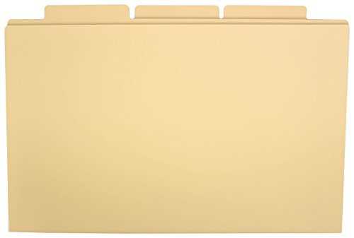 11x17 Manila Filing Folder, Pack of 60, Manila (563047)