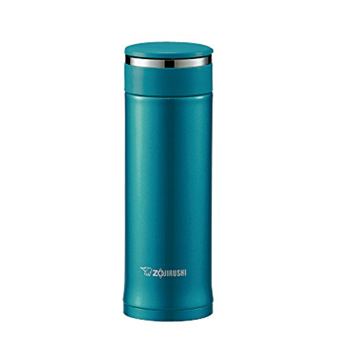Zojirushi Stainless Vacuum Mug, 10 oz/0.30 L, Emerald (Travel Mug Take Two)