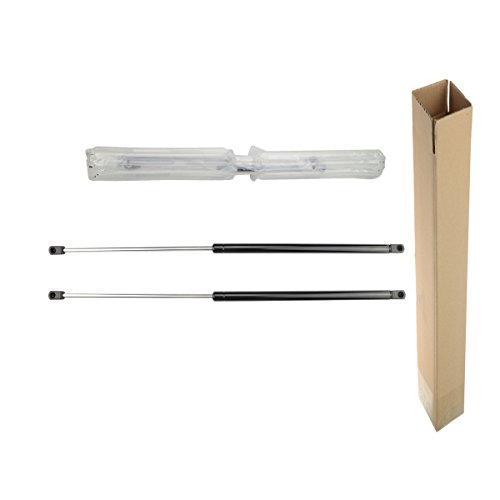 A-Preimum Rear Window Glass Lift Supports Shock Struts for Jeep Wrangler TJ 1997-2006 With Hardtop 2-PC Set