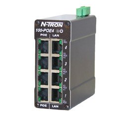 N-tron Ethernet Switch 100-POE4