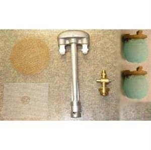 Dual Inverted Gas Lamp Burner Replacement Kit - Propane Gas