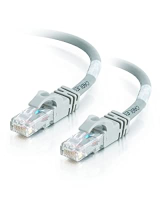 Cat5e 30FT Networking RJ45 Ethernet Patch Cable Xbox \ PC \ Modem \ PS4 \ Router - (30 Feet) Gray