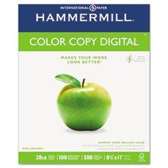 * Color Copy Paper, 100 Brightness, 28lb, 8-1/2 x 11, Photo White, 500/R