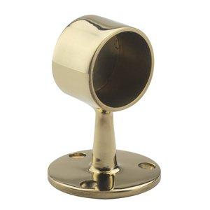 Lavi Industries 00-340/2 Brass Flush End Post 2