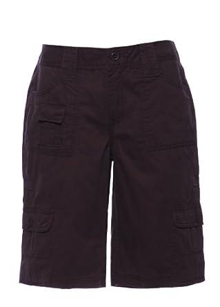 Apt.9 Ladies/Women's 100% Cotton Summer Cargo Knee-length Shorts ...