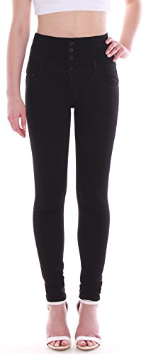1 Noir Style Slim Femme Jeans Station24 xBqwaq6f