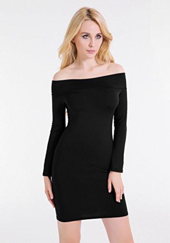 Damen kleider kurz langarm