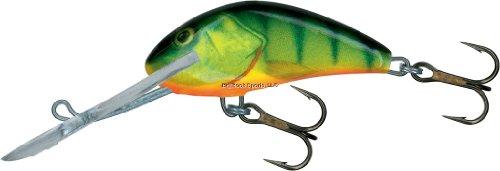 Salmo 1 3/4 inch Deep Runner Hornet Lure 1/16-oz., HOT PERCH (Salmo Fishing Lures)