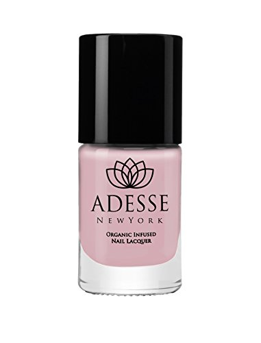 (Adesse New York Organic Infused Gel Effect Nail Polish, Fast Drying and Chip Resistant Polish, Ultra Long Wear, for a Flawless Manicure, Vegan, Cruelty Free, Paraben Free- Bellini 11ml)