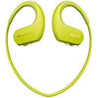 SONY Walkman 4GB headphone-integrated NW-WS413 (Lime Green)
