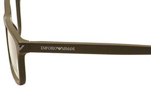5453 Pour 52mm Mud lunettes Armani de 3072 Emporio Black Matte Montures Matte Homme qgUxwXTv