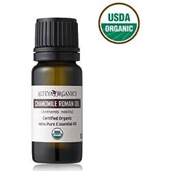 Certified Organic Roman Chamomile Essential Oil - Therapeutic Grade 5ml