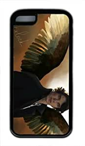 Sherlock Holmes Customized Hard tpu iphone 4/4s iphone 4/4s Black Case