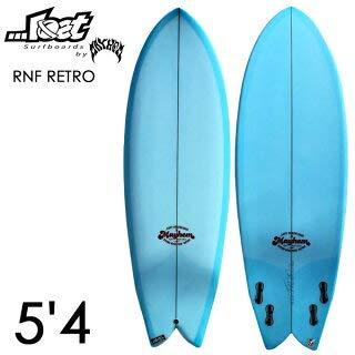 LOST SURFBOARDS ロスト サーフボード【RNF RETRO】 5'4