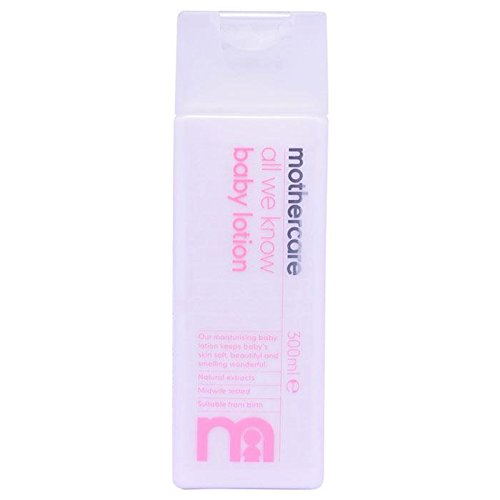 Mothercare All We Know Baby Lotion 300ml E 0m+ - Pack Of 1, 300ml by Mothercare