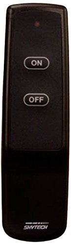 Skytech 9800589 1001TX Fireplace On/Off Remote Control for Replacement Transmitter Only