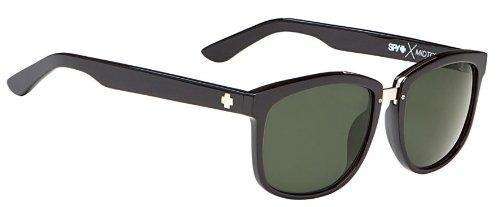 Spy Optic Unisex Midtown Crosstown Collection Eyewear, Black/Grey Green, One - Sunglasses Midtown