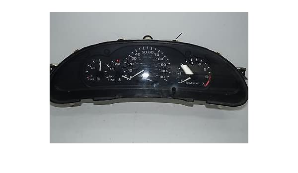 REBUILT 00 01 02 03 04 Chevrolet Cavalier Speedo Instrument Cluster W//Tachometer