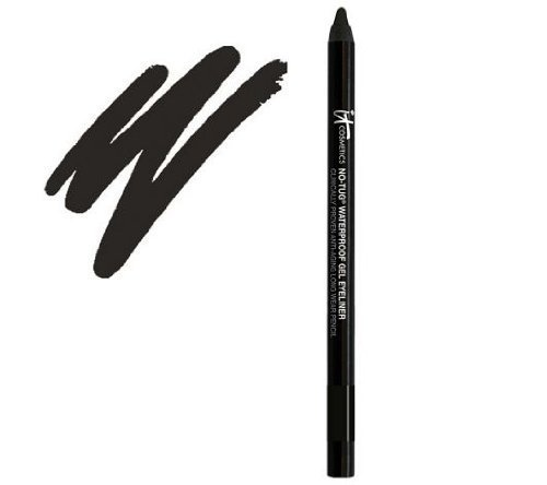 IT COSMETICS No-Tug Waterproof Gel Eyeliner .017 oz. 50g. (Black)